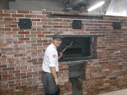 전통 베이커리 오븐  commercial wood fired oven