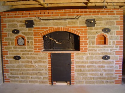 four à bois à pain commercial bread oven
